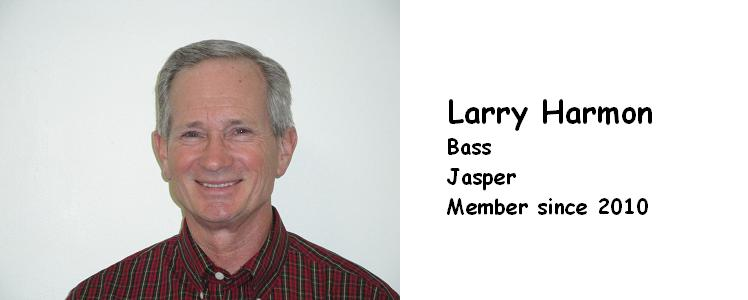 HARMON, LARRY  BASS   2010   JASPER