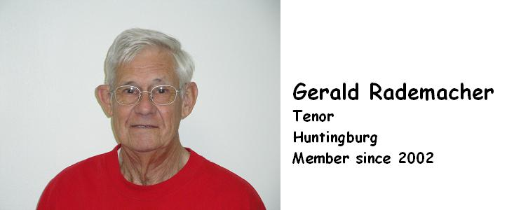 RADEMACHER, GERALD   TENOR   2002   HUNTINGBURG