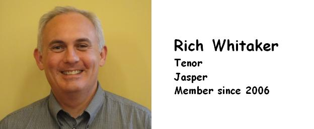 WHITAKER, RICH   TENOR   2006   JASPER